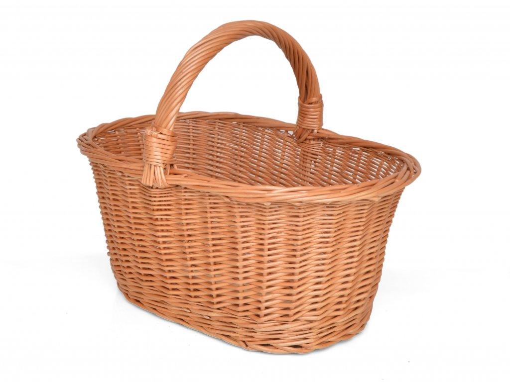 Nákupní košík na ovoce Emilie - zpevněný, velký