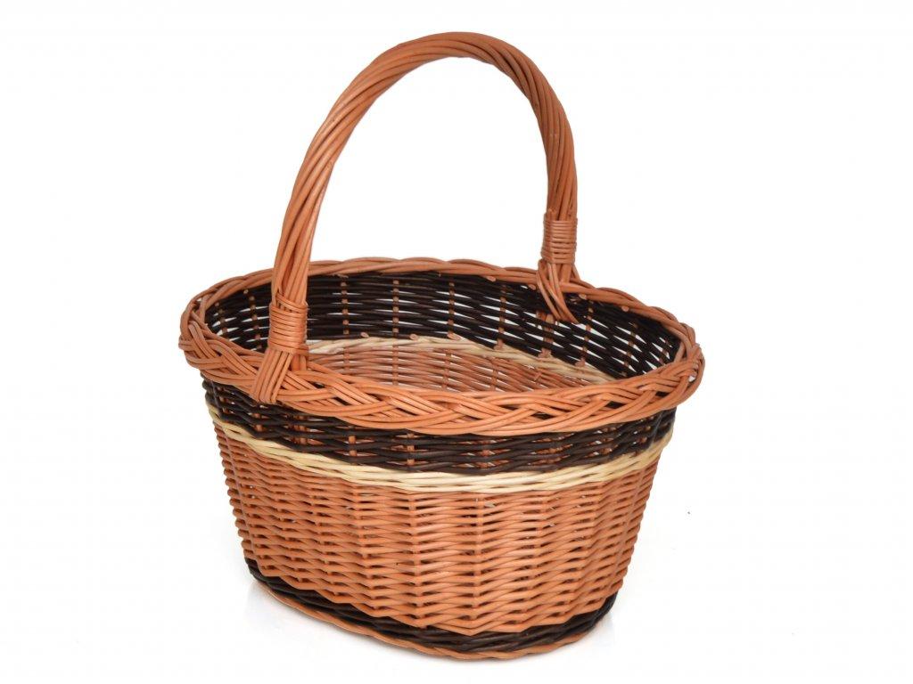 Proutěný nákupní košík Daneček