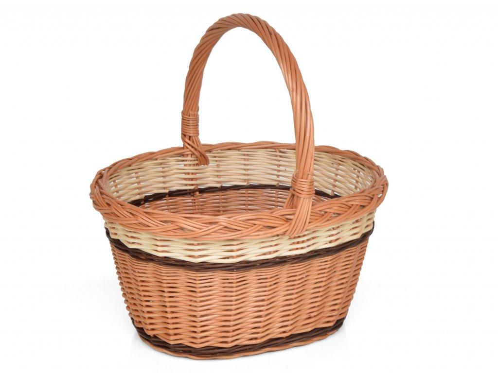 Proutěný nákupní košík Pavlínka