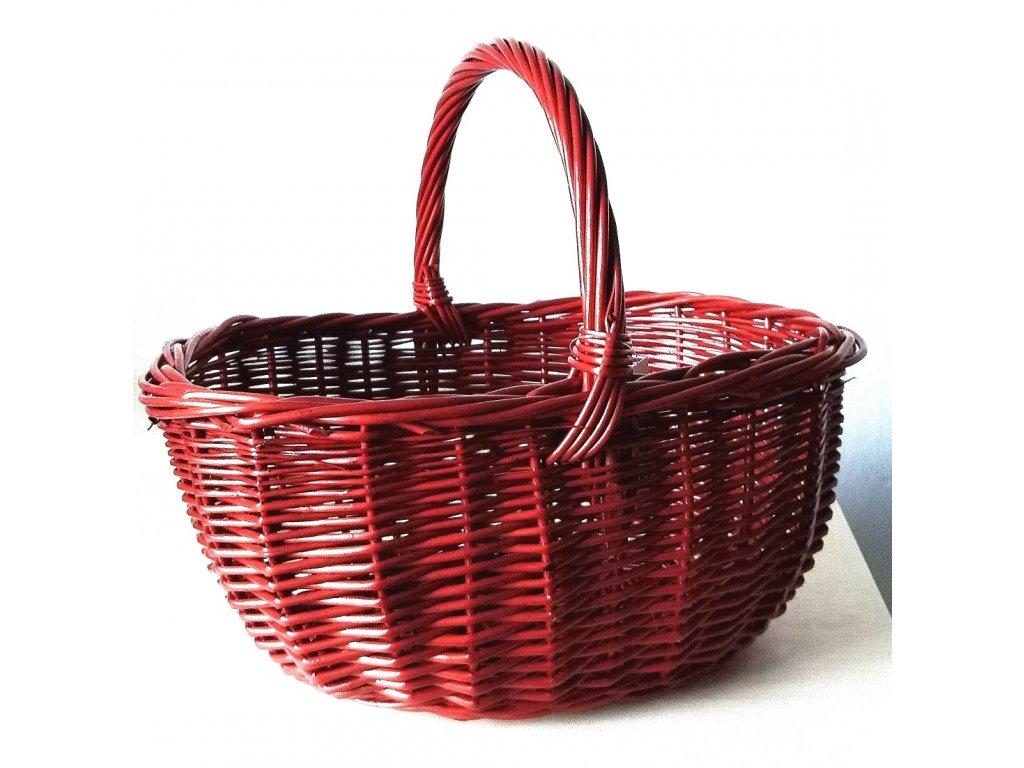 Nákupní košík - červený - Dita