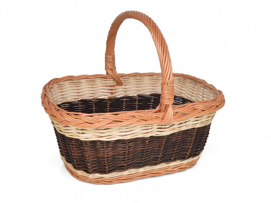 Proutěný nákupní košík Ludvík