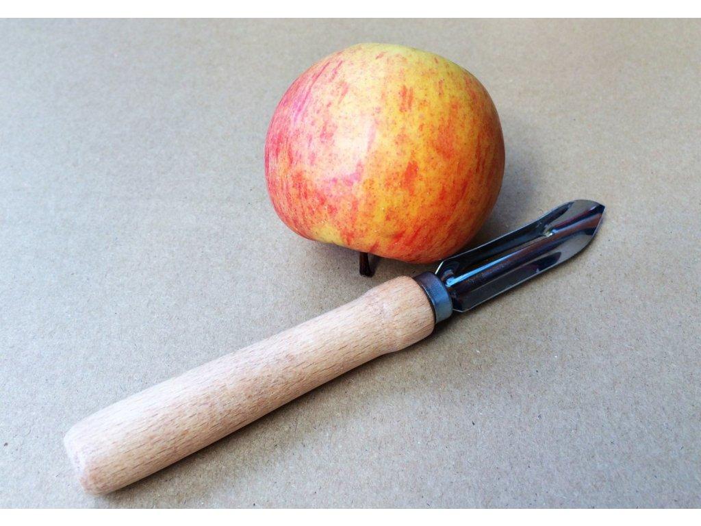 Škrabka na brambory pro leváky