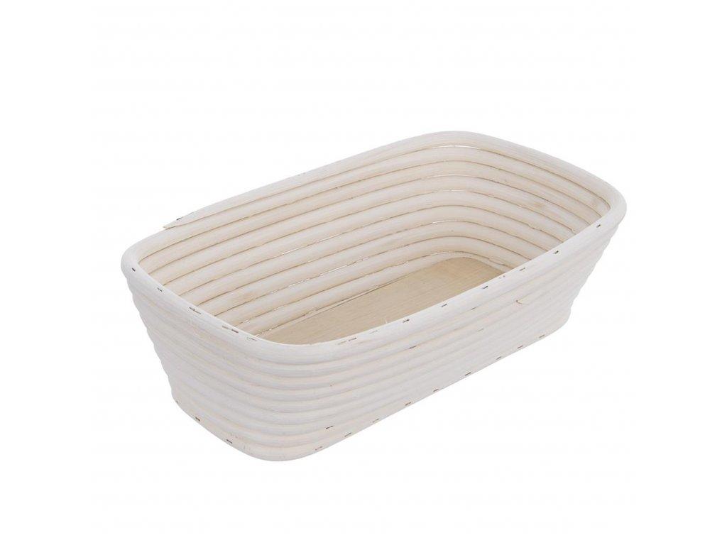 Ošatka na kynutí chleba, obdélníková - 28 x 17,5 x 8,5 cm