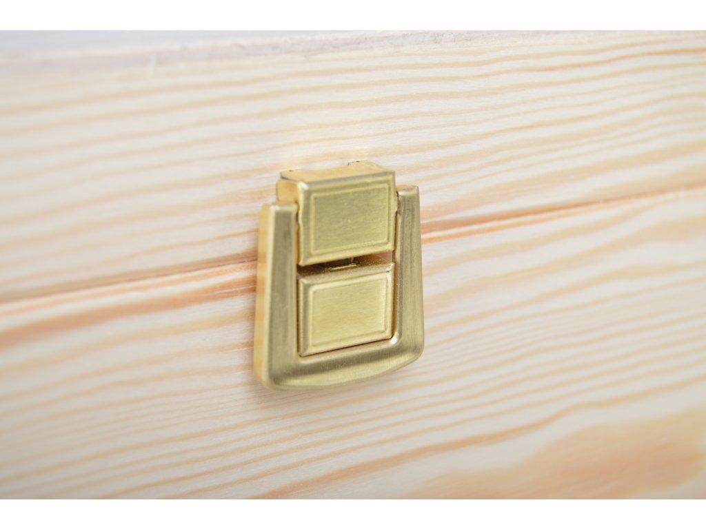 bedýnka ze dřeva se zapínáním 26004
