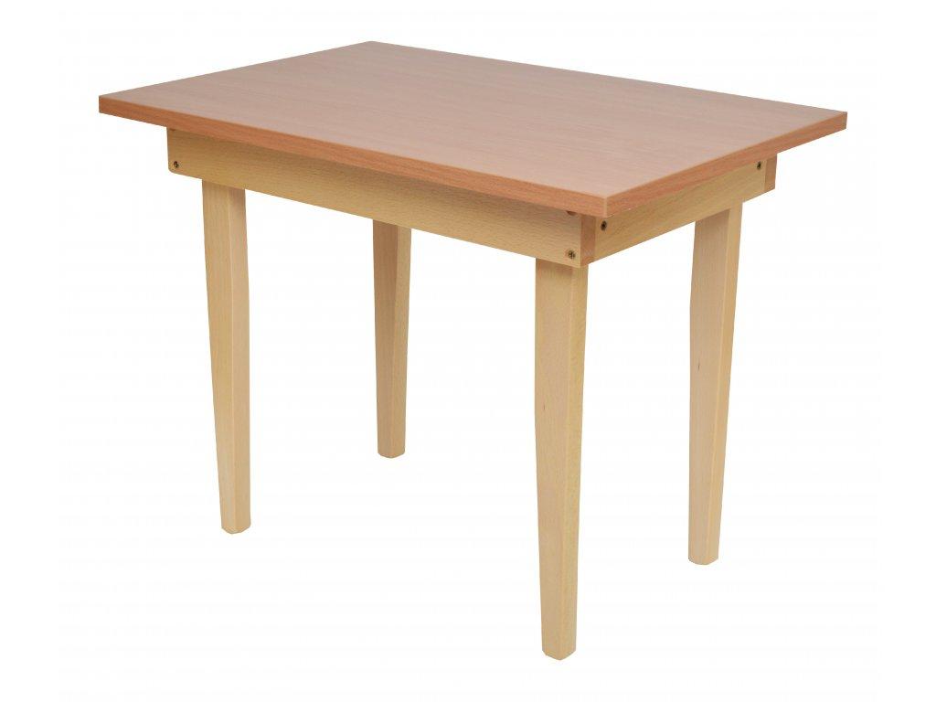 Dřevěný stůl pro dvě děti