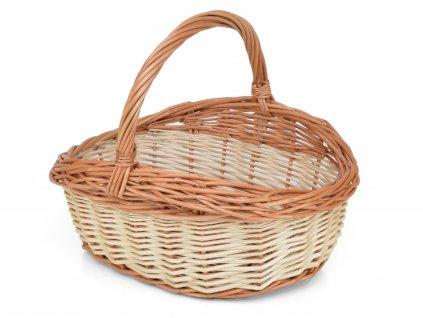 Proutěný nákupní košík Niki