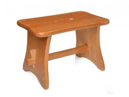 Dřevěná stolička - štokrle pinie