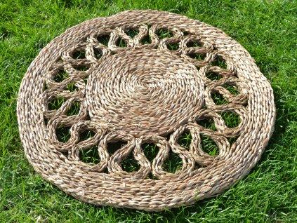 Kulatá rohož na podlahu - Ø 60 cm