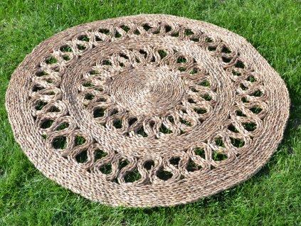 Kulatá rohož na podlahu - Ø 90 cm