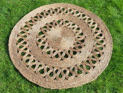 Kulatá rohož na podlahu - Ø 120 cm