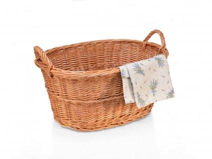 Proutěný koš na prádlo vandle - 50 cm