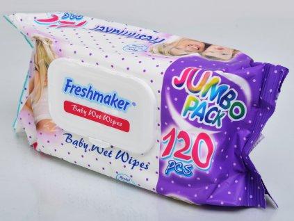 Freshmaker dětské vlhčené ubrousky 120 ks