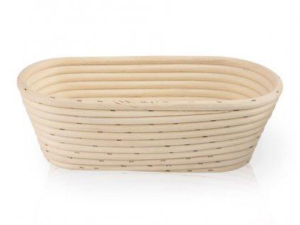 Ošatka na kynutí chleba z pedigu, oválná - 1,25 kg, typ III.