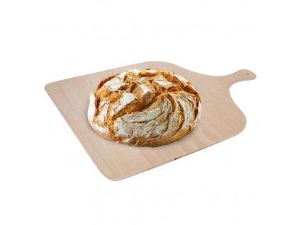 Prkénko na pizzu či chleba - 41 x 29 cm