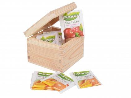 Dřevěná krabička na čaj nebo hodinky