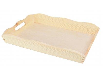 Dřevěný podnos - 39 x 28 cm