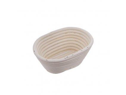 Ošatka na kynutí dalamánků a chleba oválná - 20 x 15 x 8 cm