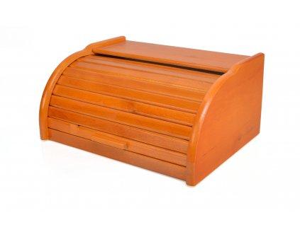 Dřevěný chlebník - chlebovka Laura mini, olše 32 x 25 x 16 cm