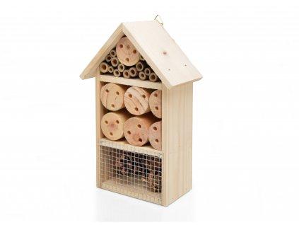 Domeček pro hmyz - hmyzí hotel, přírodní - 25 x 15 cm