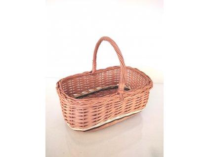 Proutěný nákupní košík Míša