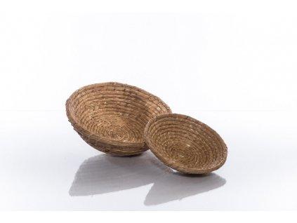 Slaměná ošatka kulatá - 30 cm