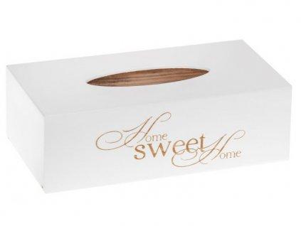 krabička na kapesníky SWEET HOME