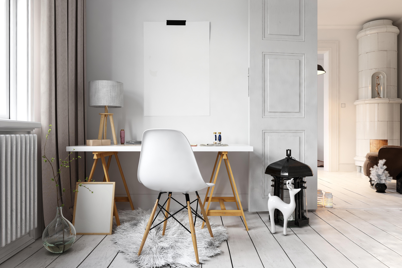5 tipů na kancelář ve skandinávském stylu