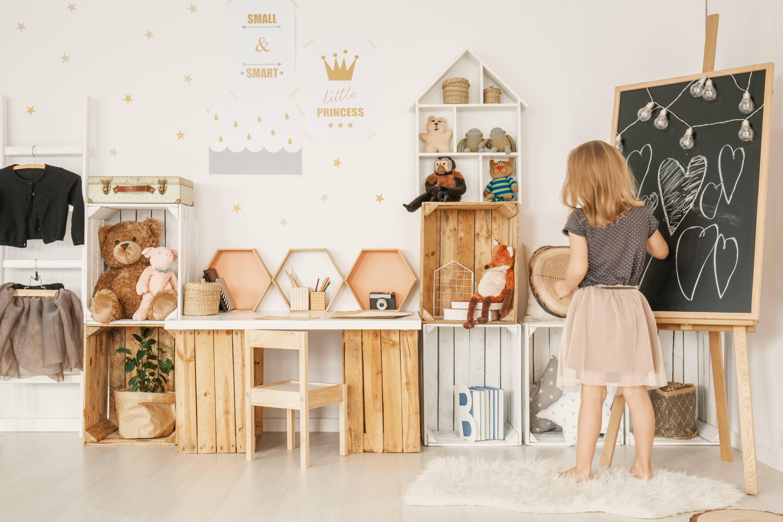 Dětský pokoj s vůní dřeva - pro malé i velké snílky