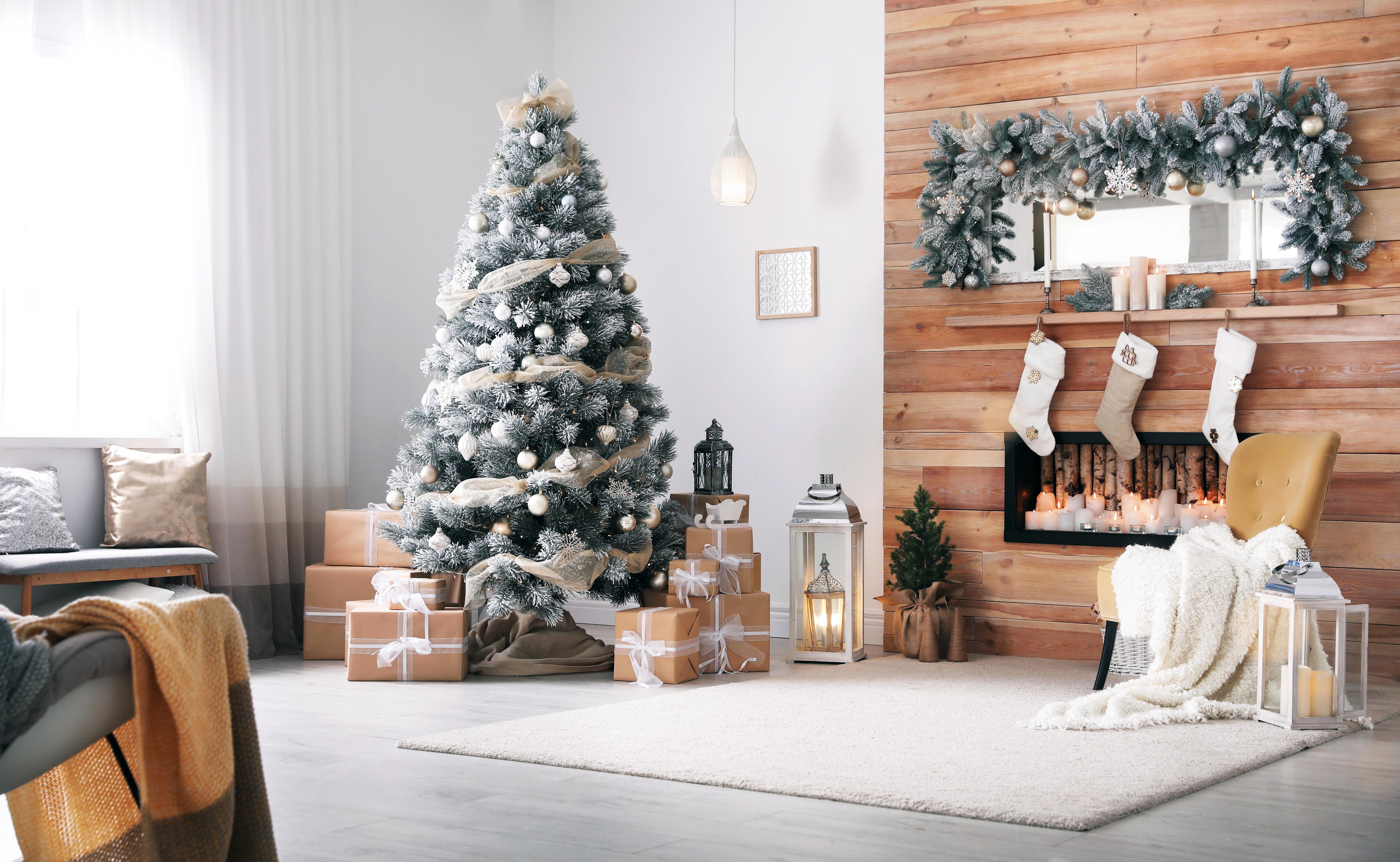 Krásné dřevěné Vánoce