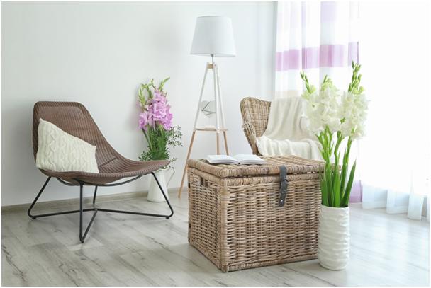 Objevte kouzlo proutěného nábytku a doplňků