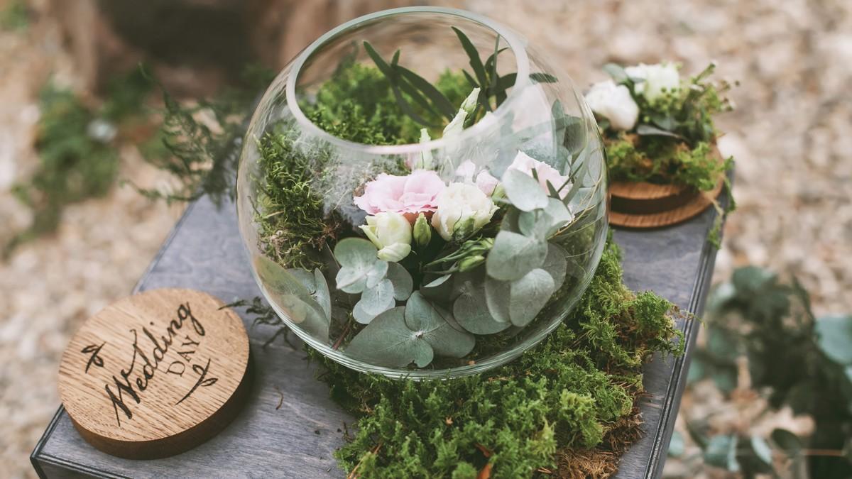 Svatba s nádechem přírody