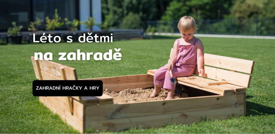 Zahradní hračky a hry