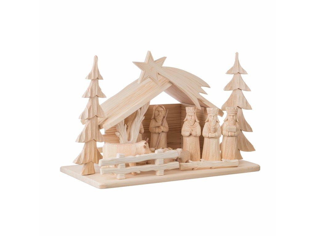 Dřevěné betlémy