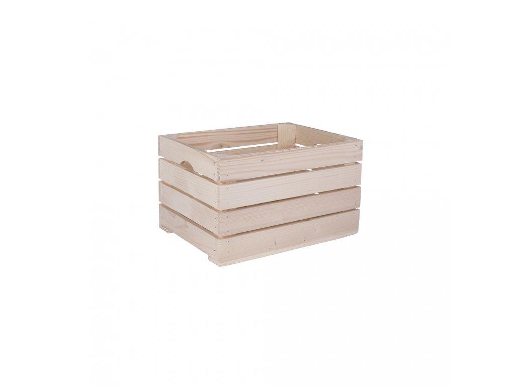 Dřevěné bedýnky a přepravky