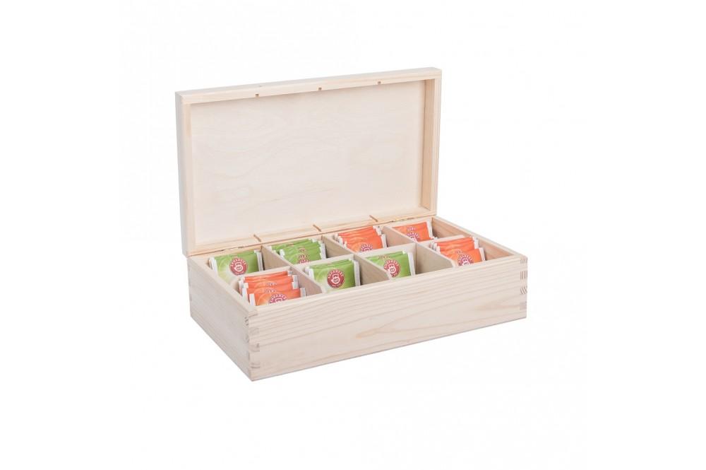 Dřevěné krabičky na čaj