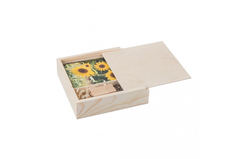 Dřevěné krabičky na fotografie