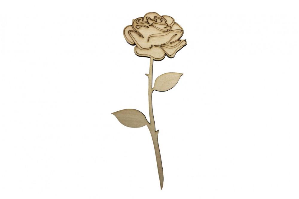 Květiny a listy
