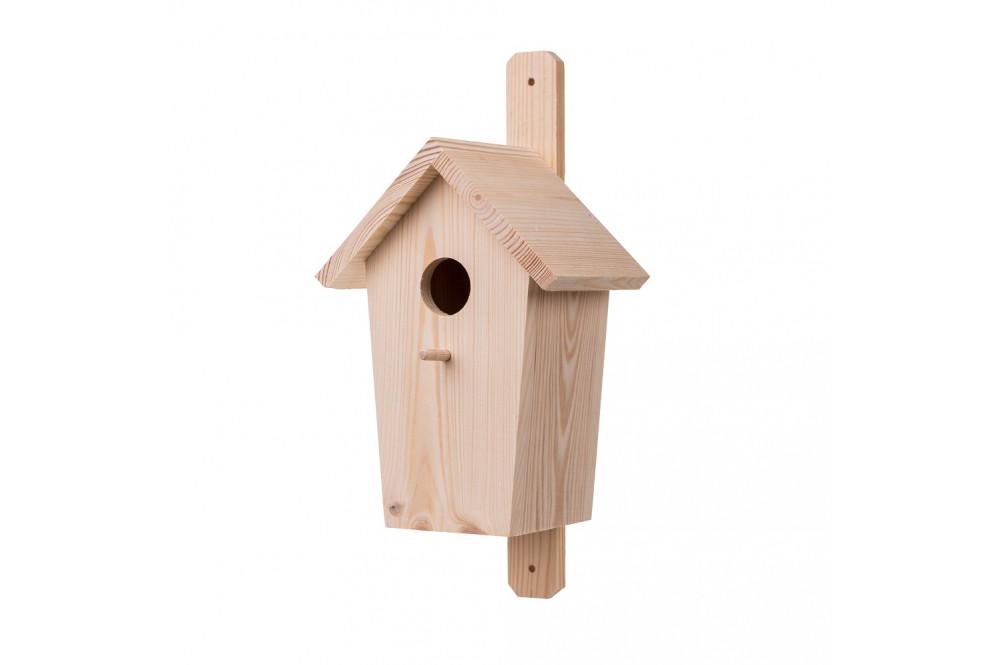 Dřevěné budky a krmítka pro ptáky