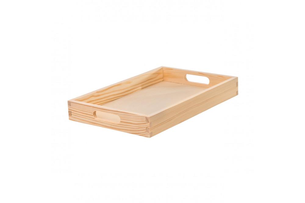 Dřevěné servírovací tácy