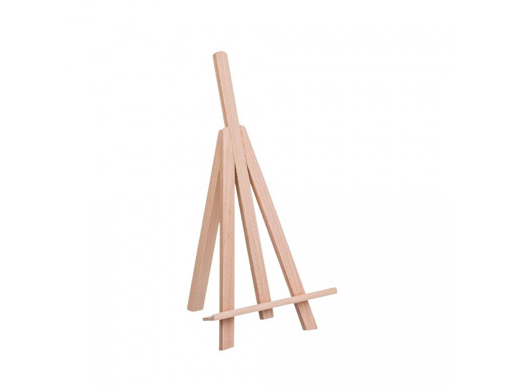 Dřevěný stojánek na fotografie I