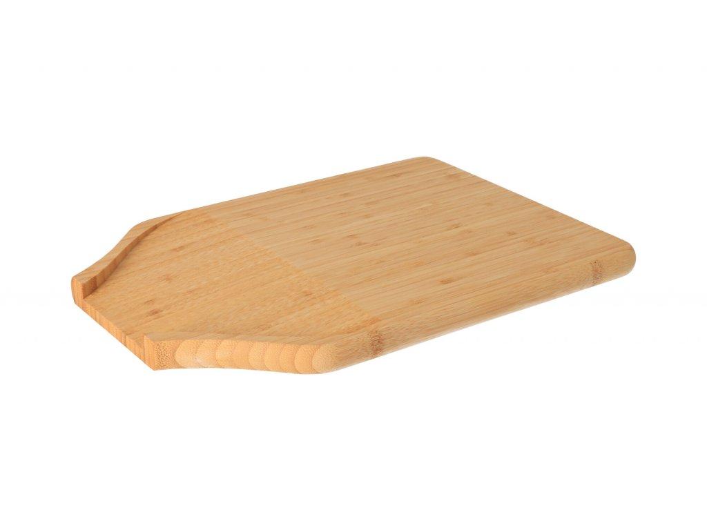 Bambusové prkénko vykrojené