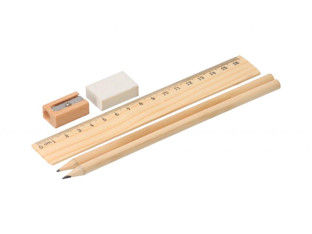 Dřevěná školní sada