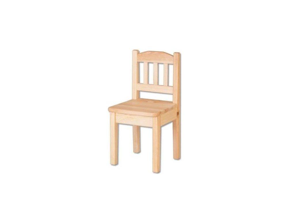 Dřevěná dětská židlička
