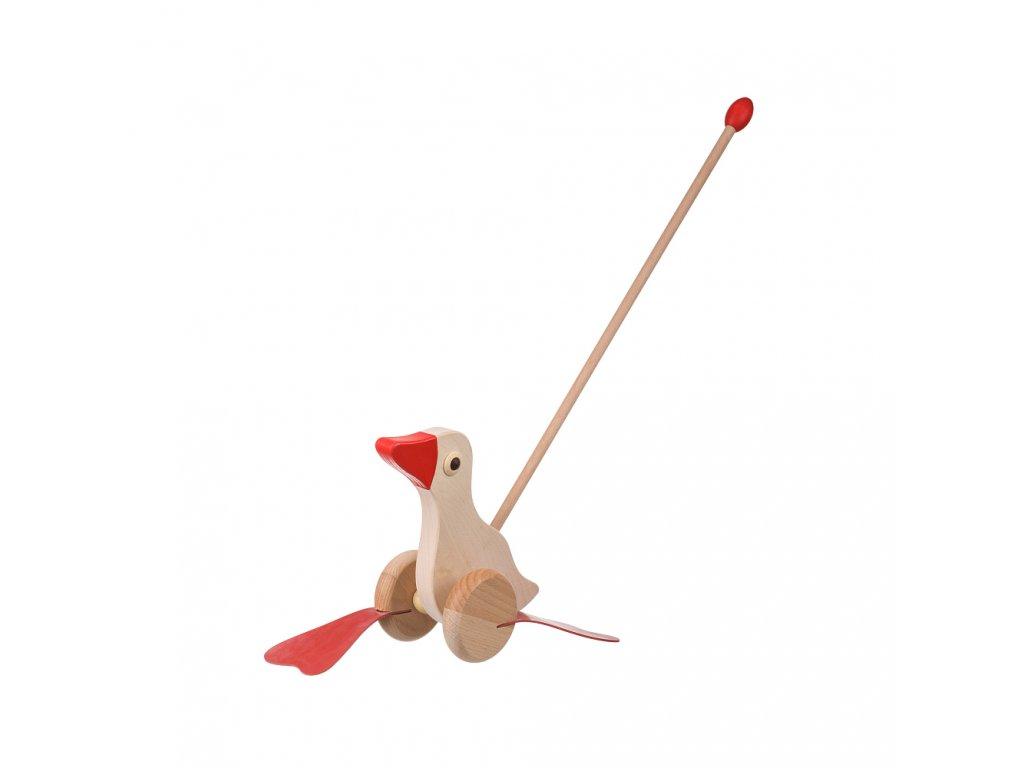 Tlačící hračka - kačenka