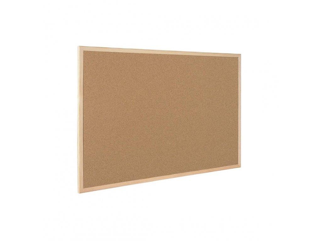 Korková tabule 90 x 60 cm