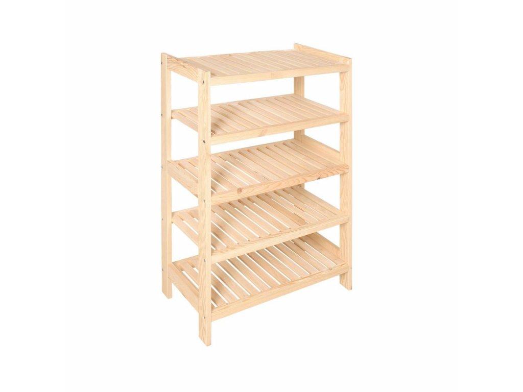 Regál dřevěný lm5 93 x 70 x 33 cm