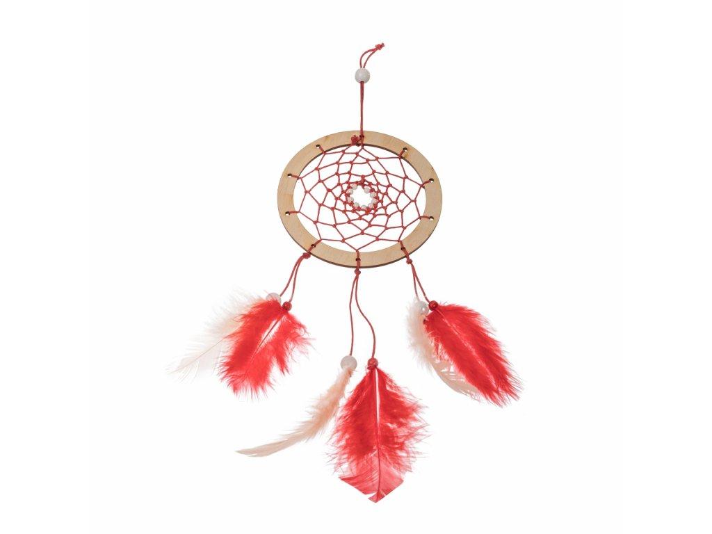 Dřevěný kroužek na výrobu lapače snů I 10cm