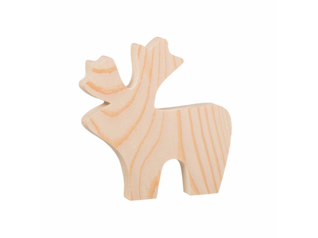 Dřevěný sobík