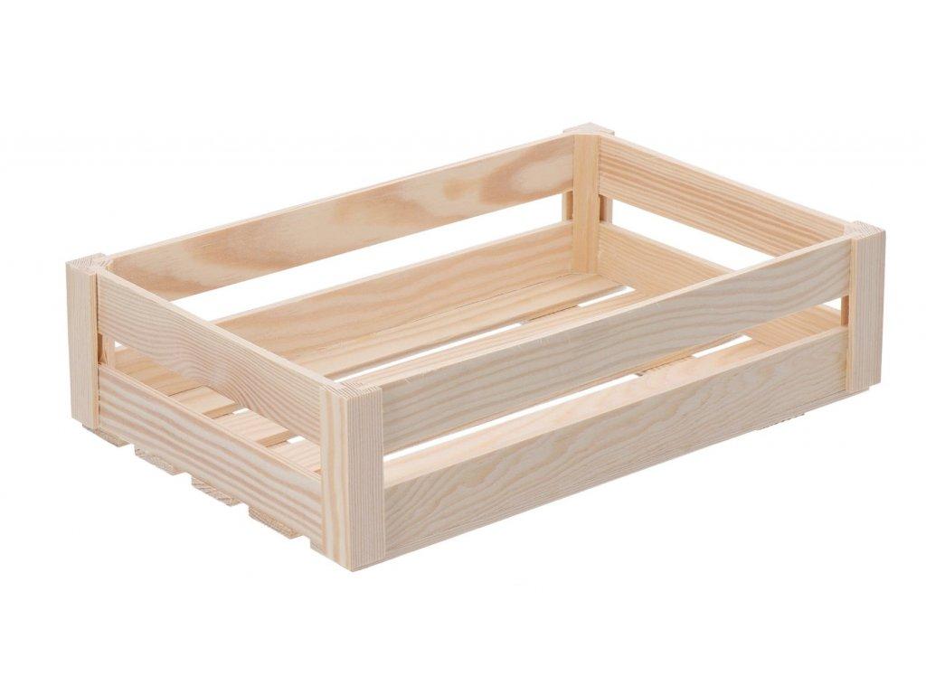 Dřevěná bedýnka velká (snížená)