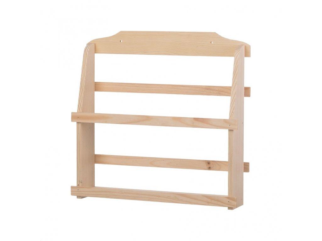 Dřevěná polička na kořenky I